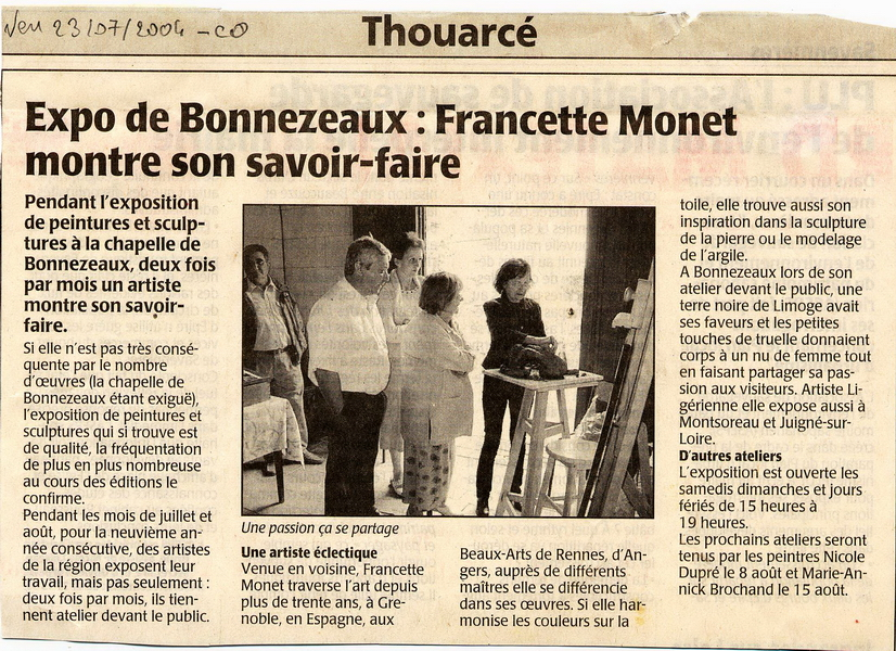 2004-07-23 Courrier de LOuest