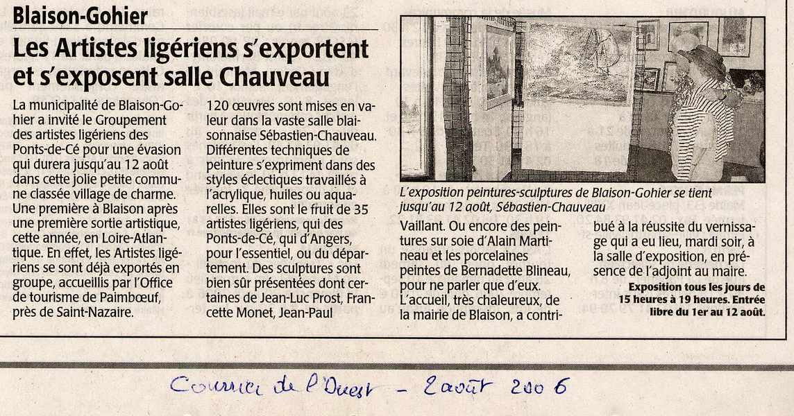 2006-08-02 Courrier De LOuest